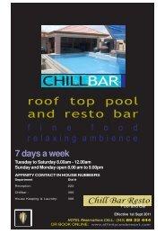 CHILLBAR - Affinity Condo Resort