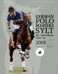 German - Polo+10 Das Polo-Magazin