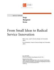 From Small Ideas to Radical Service Innovation - Ideo