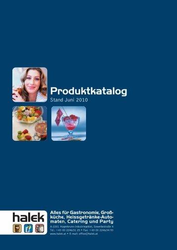 Produktkatalog - Halek GmbH