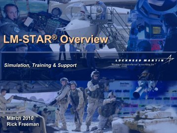LM-STAR® Overview LM-STAR® Overview
