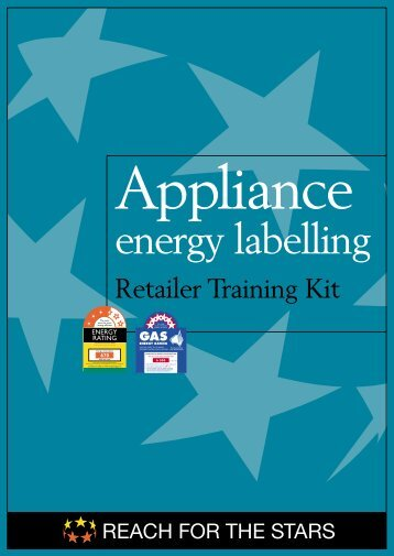Appliance Energy Labelling - Retailer Training Kit