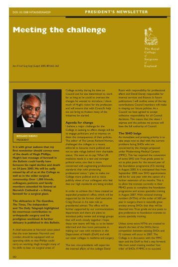 Bulletin September.PS - The Royal College of Surgeons of England