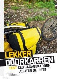 TesTzes bagagekarren achter de fiets - Op Pad