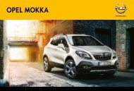 Opel Mokka Katalog
