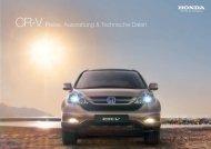 CR-V Preise, Ausstattung & Technische Daten - Honda