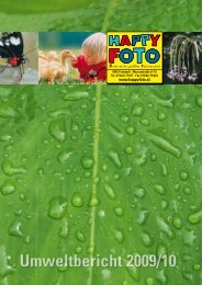 Download des Umweltberichts als PDF-Dokument - Happy Foto