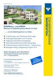 Netto-Kaufpreis ab € 204.355,72 ... - Volksbank Graz-Bruck