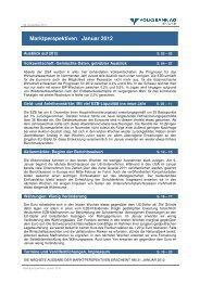 Marktperspektiven Januar 2012 - Volksbank Graz-Bruck