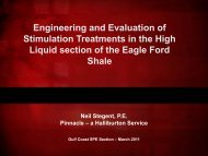 Engineering and Evaluation of Stimulation Treatments in the High ...