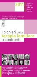 Laureato - Istituto di Terapia Familiare di Firenze