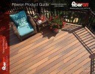 Fiberon Product Guide