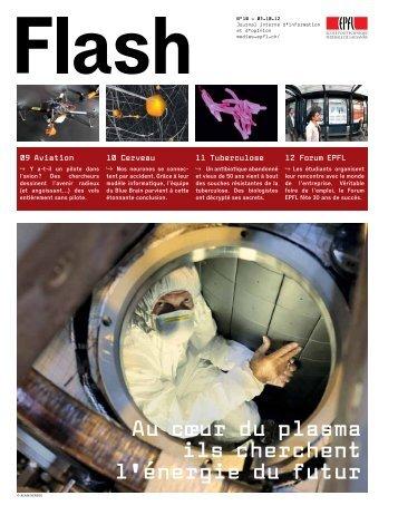 Au cœur du plasma ils cherchent l'énergie du futur - NEWS EPFL ...