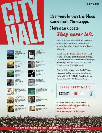 check stock - City Hall Records