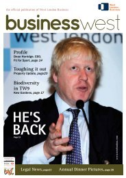 Summer 2012 - West London Business