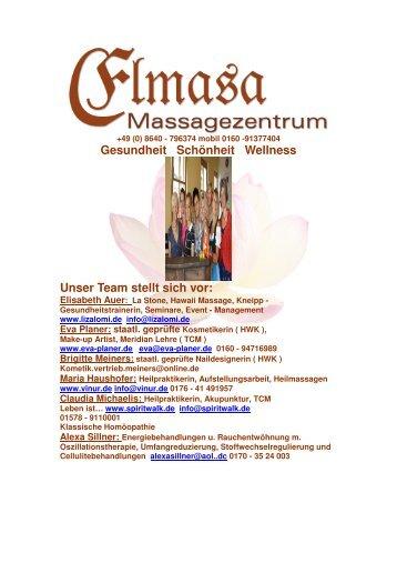 Gesundheit Schönheit Wellness Unser Team stellt ... - Reit im Winkl