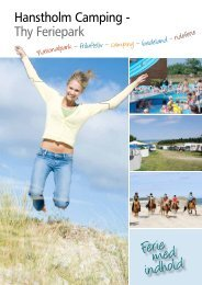 Brochure 2012 - Hanstholm Camping