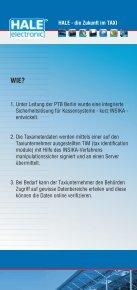 HALE - die Zukunft im TAXI - HALE electronic GmbH - Seite 3