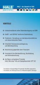 HALE - die Zukunft im TAXI - HALE electronic GmbH - Seite 4