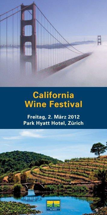 California Wine Festival - Vinum