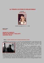 LA TERAPIA SISTEMICO-RELAZIONALE - Psicoterapeuti.info