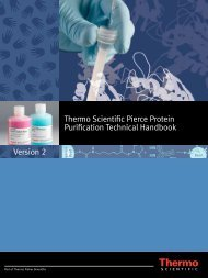 Thermo Scientific Pierce Protein Purification Technical Handbook ...
