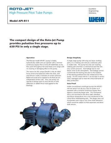 Roto Jet Model r11 manual