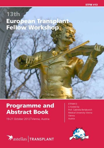 final programme and abstract book - ESOT