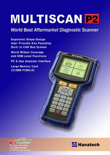 World Best Aftermarket Diagnostic Scanner - Automotive Service ...