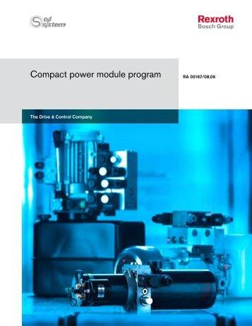 Compact power pack program - Bosch Rexroth