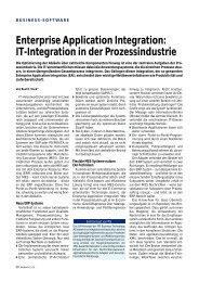 Enterprise Application Integration - PSI Logistics GmbH