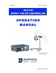 SVC100 spray valve controller