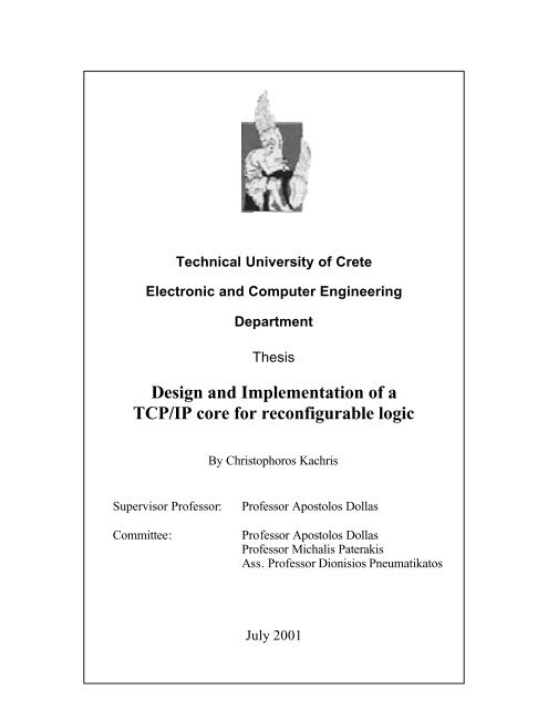 Tcp/ip thesis popular college dissertation methodology examples