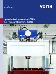 Hydraulischer Pressenantrieb PSH – Ihre Presse wird ... - Voith Turbo