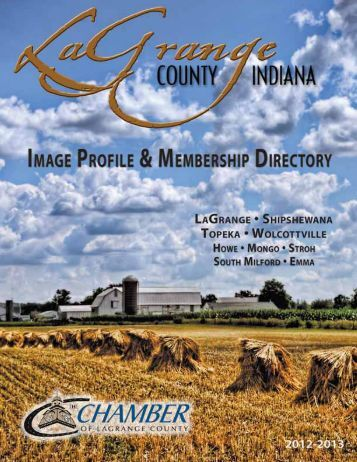 Membership Directory - LaGrange County Chamber of Commerce