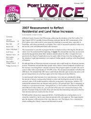 Feb - Port Ludlow Voice
