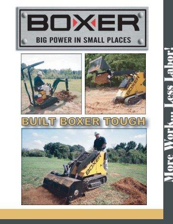 Boxer's Loader and Mini Excavator PDF Brochure