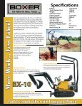 Boxer's Loader and Mini Excavator PDF Brochure - Page 6