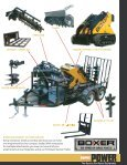 Boxer's Loader and Mini Excavator PDF Brochure - Page 7
