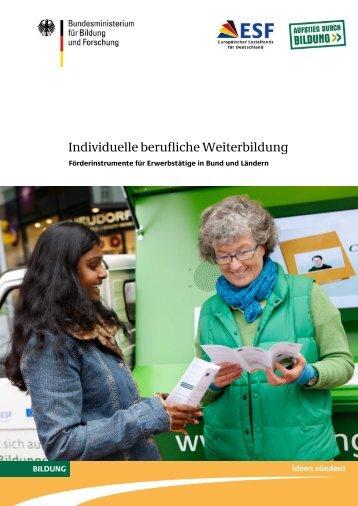 Individuelle berufliche Weiterbildung - Förderinstrumente für ...
