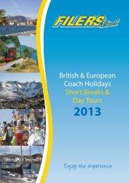 Download 2013 Brochure - Filers Travel