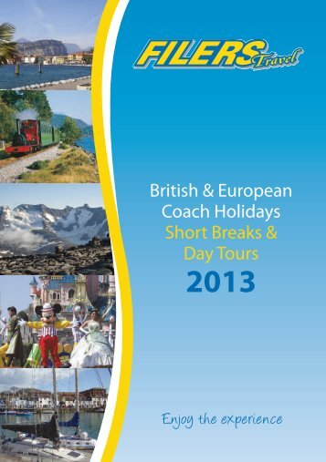 Download 2013 Brochure - Filers Travel