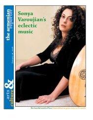 Sonya Varoujian's eclectic music - Armenian Reporter