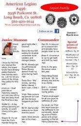 American Legion #496 - American Legion Post 496
