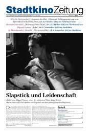 Slapstick und Leidenschaft - Stadtkino Wien