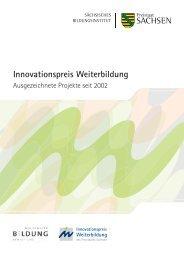 Ausgezeichnete Projekte seit 2002 - Weiterbildung - Freistaat Sachsen