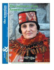 The costumes of an Armenian woman - Armenian Reporter