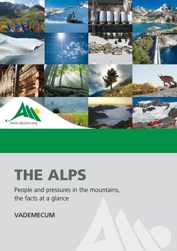 The Alps – Alpine Convention - Convenzione delle Alpi