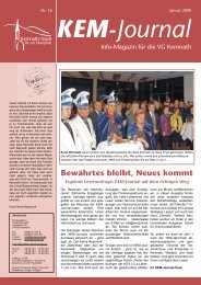 Januar 2009 KEM- Journal - Stadt Kemnath