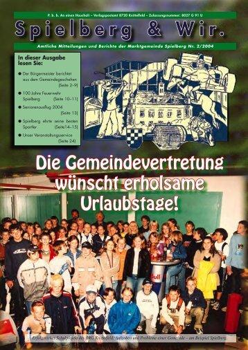 GZ Spielberg Juni 2004 - Gemeinde Spielberg